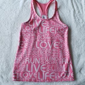Lightly Loved💜 Old Mavy Peach Workout Tank